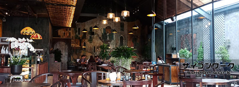 おシャンなカフェ「モナリザ」