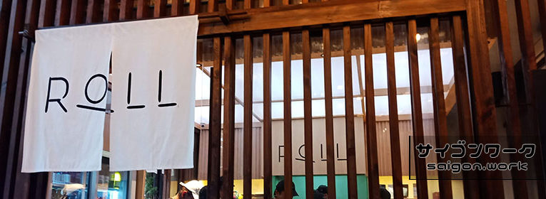 タオディエンの巻き寿司専門店 ROLL1周年イベント