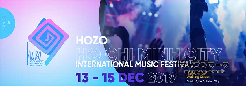 HOZO INTERNATIONAL MUSIC FESTIVAL | サイゴンワーク