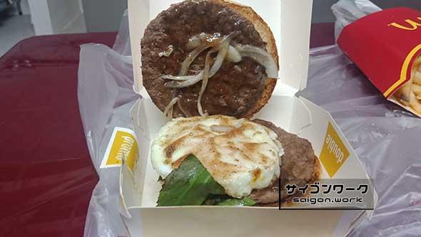 『Pho Burger(フォーバーガー)』の中身