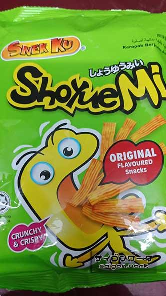 ShoyueMi(しょうゆうみい)|ラーメン系スナック菓子