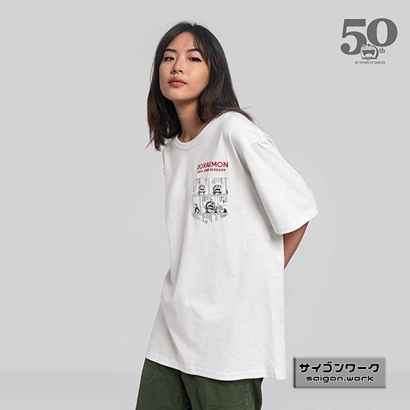 Ananas x  ドラえもん50周年記念Tシャツ